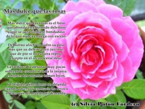 Más dulce que las rosas (versión 2)