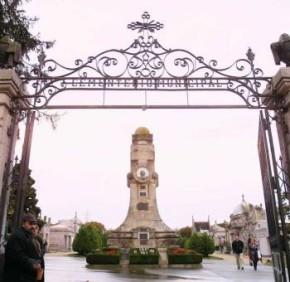 El cementerio de Pereriro de Vigo