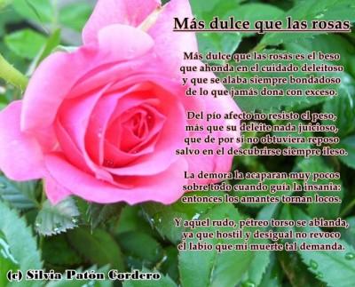 Más dulce que las rosas
