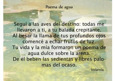 Poema de agua (poesía en prosa. Amor)
