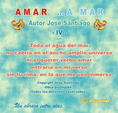 AMAR ...A MAR -IV- (Lira) * Autor José Santiago