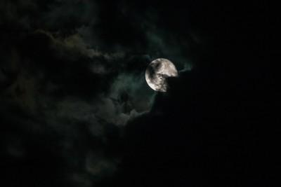 Ayer hubo Luna