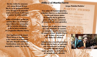 Atilio y el Martín Fierro